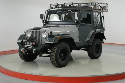 1962 Jeep CJ Willys. Custom Build. 4×4. LED. WINCH na prodej