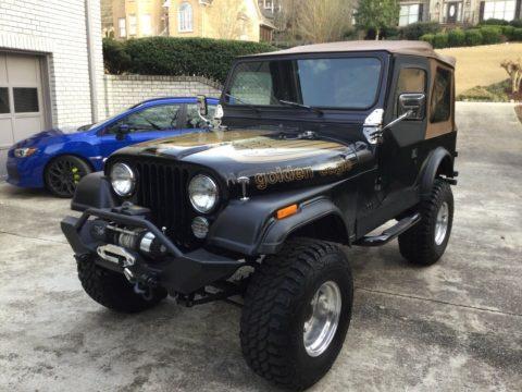 1977 Jeep CJ7 na prodej