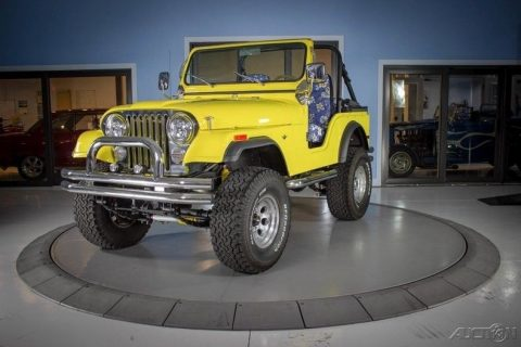 1978 Jeep CJ na prodej
