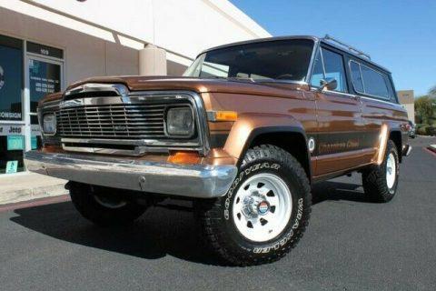 1979 Jeep Cherokee Chief 4X4 Levi's Edition na prodej