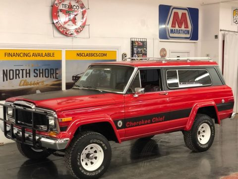 1979 Jeep Cherokee  Chief Wagon 4×4 Arizona Truck Restored na prodej