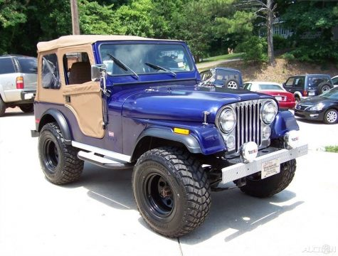 1980 Jeep CJ 4X4 CJ 7 LEVI TRIM PKG 2.5L 4CYL 4 SPD Restored Driver TRAIL na prodej