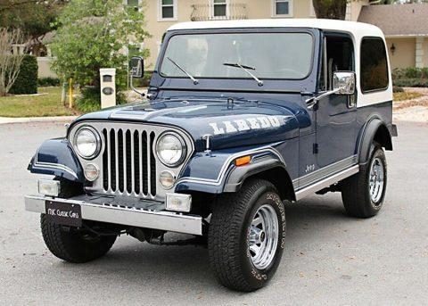 1981 Jeep CJ 7 Laredo 23K MILES na prodej