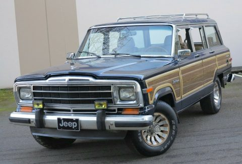 1987 Jeep Wagoneer Grand Wagoneer na prodej