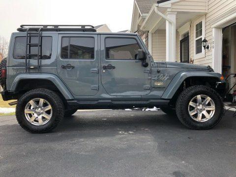 2014 Jeep Wrangler Unlimited Sahara. na prodej