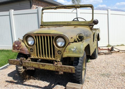Jeep M38a1 Willys MD Military Jeep na prodej