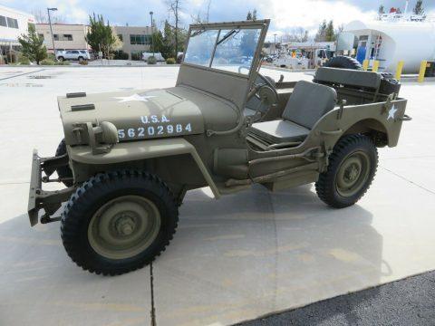 1944 FORD GPW Military JEEP WWII na prodej