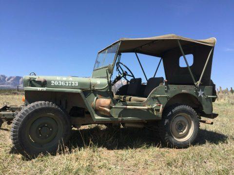 1944 Jeep Willys MB na prodej