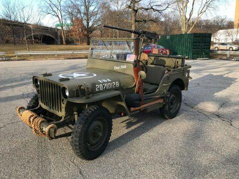 1945 Willys Jeep na prodej
