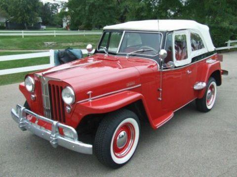 1949 Willys Overland Overland Jeepster na prodej