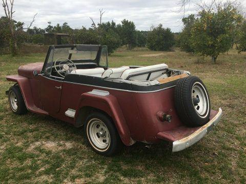1950 Jeep Convertible Jeepster na prodej