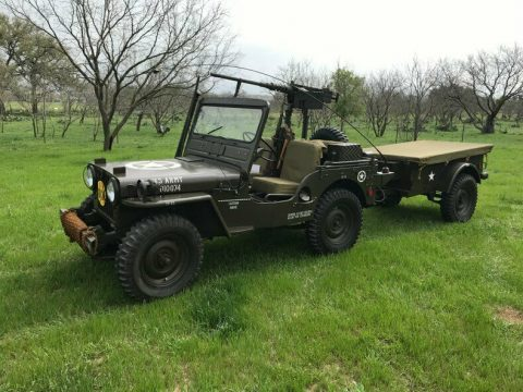1951 Jeep Willys Military Restored to Perfection na prodej