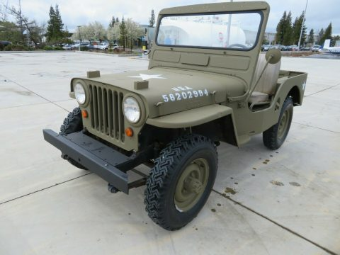 1953 Jeep Willys Custom CJ3A na prodej