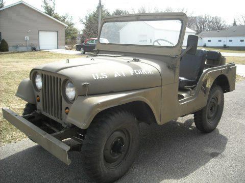 1955 Jeep CJ5 Military na prodej