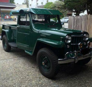 1955 Jeep Willys na prodej