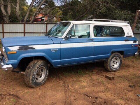 1974 Jeep Cherokee na prodej