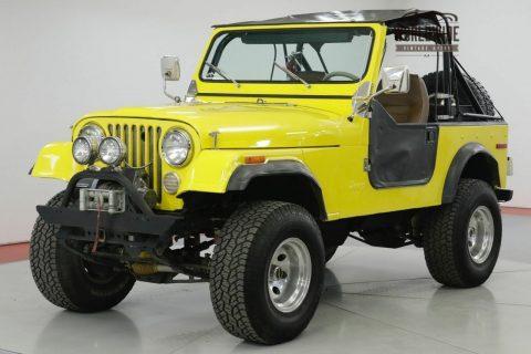 1978 Jeep CJ 304 V8. 3 Speed Manua na prodej