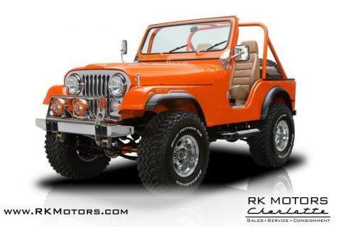 1978 Jeep CJ 5 na prodej