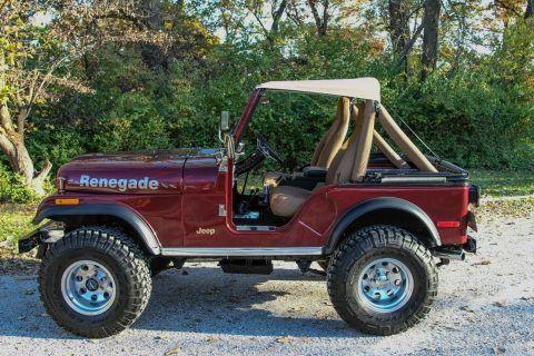 1979 Jeep CJ5 Renegade na prodej