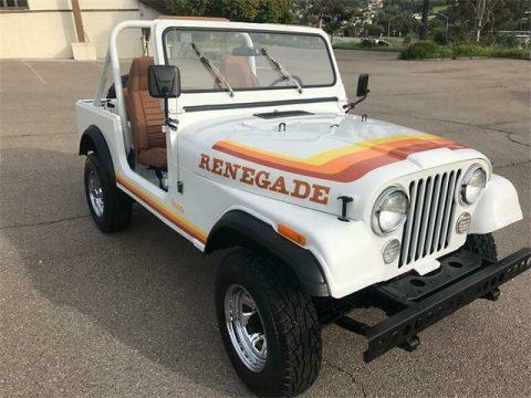 1980 Jeep CJ CJ7 RENEGADE na prodej