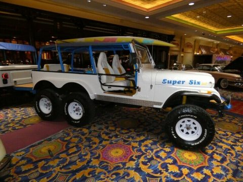 1992 Jeep CJ Super SIX Party Show Jeep na prodej