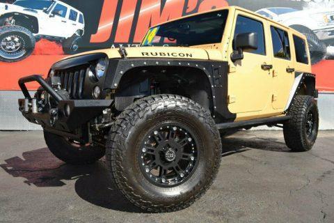 2014 Jeep Wrangler Jeep Wrangler Unlimited Rubicon 4X4 Smittybilt XRC na prodej