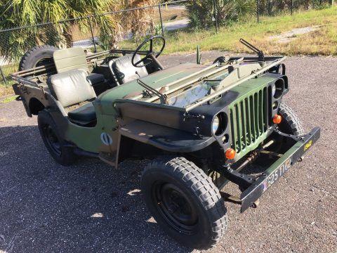 1942 Jeep Willys MB na prodej