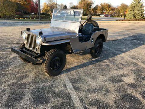 1947 Jeep Willys CJ2A na prodej