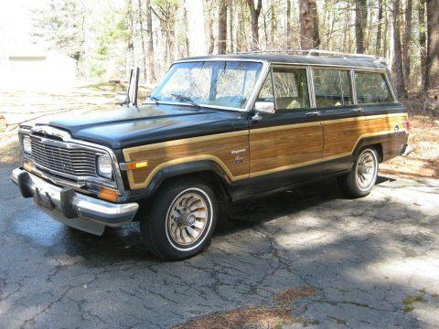 1983 Jeep Wagoneer Limited na prodej