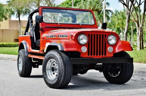1984 Jeep CJ 4 Speed Manual 4 Wheel Drive na prodej