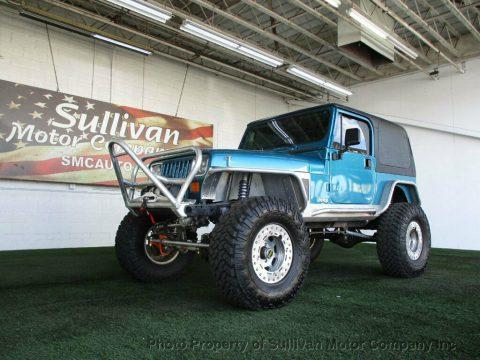 1992 Jeep Wrangler YJ na prodej