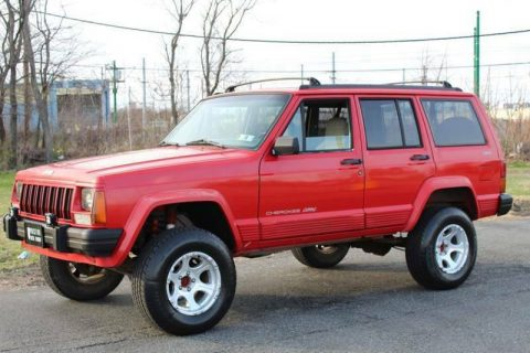 1996 Jeep Cherokee Classic edition na prodej