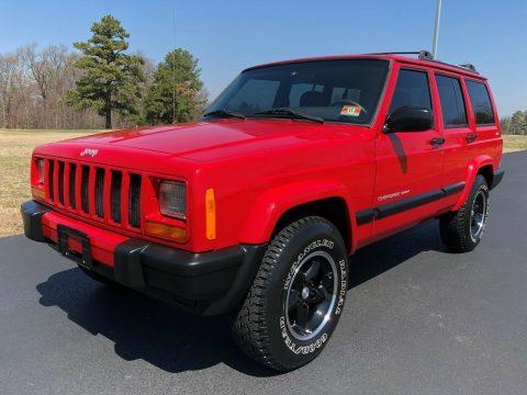2001 Jeep Cherokee Sport XJ na prodej