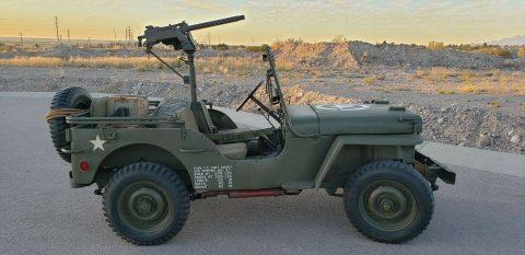 1942 Ford GPW WW2 na prodej