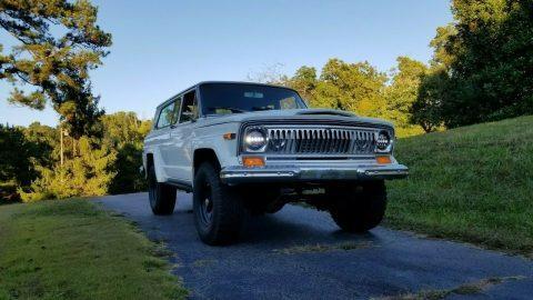 1978 Jeep Cherokee Chief 4WD na prodej