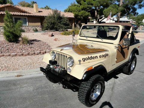 1979 Jeep CJ7  Golden EAGLE na prodej