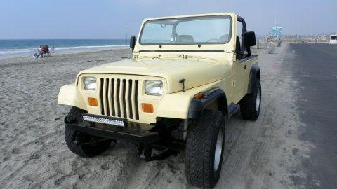 1988 Jeep Wrangler YJ na prodej