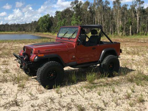 1989 Jeep Wrangler Yj na prodej