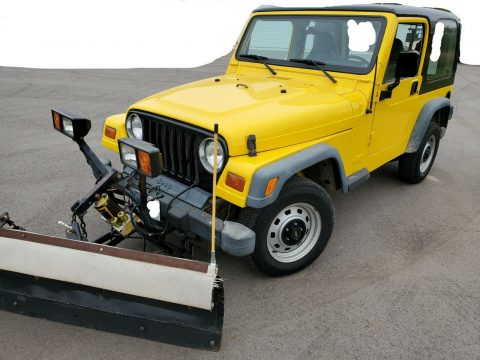 1998 Jeep Wrangler Plow na prodej
