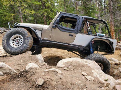 2004 Jeep Wrangler Rock Crawler na prodej