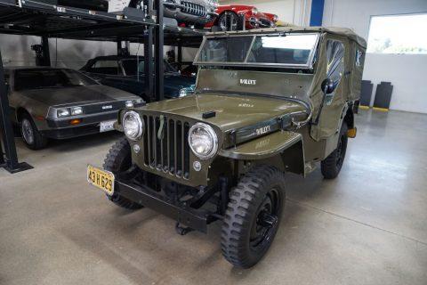 1947 Willys Jeep CJ2A Universal na prodej