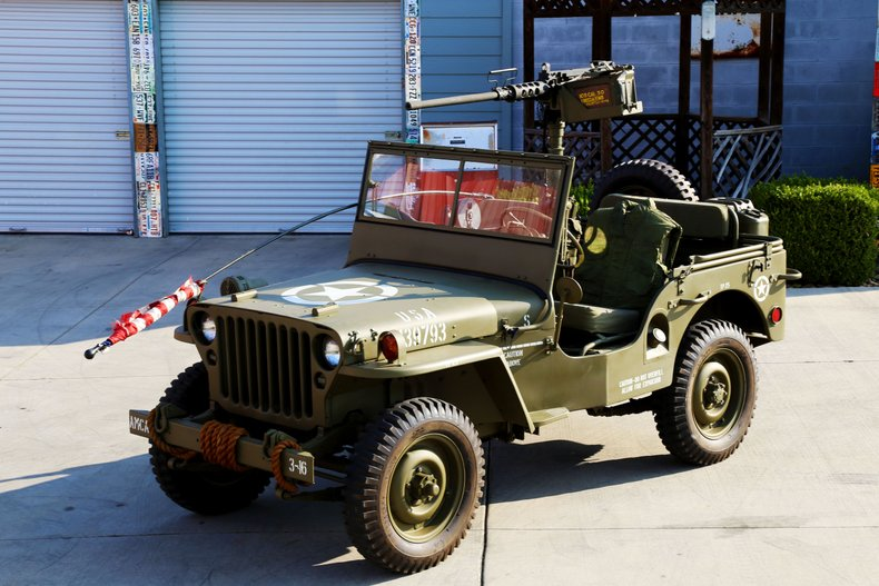 1947Jeep Willys CJ2A