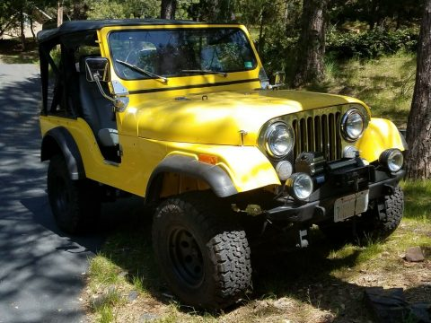 1979 Jeep CJ5 4×4 na prodej