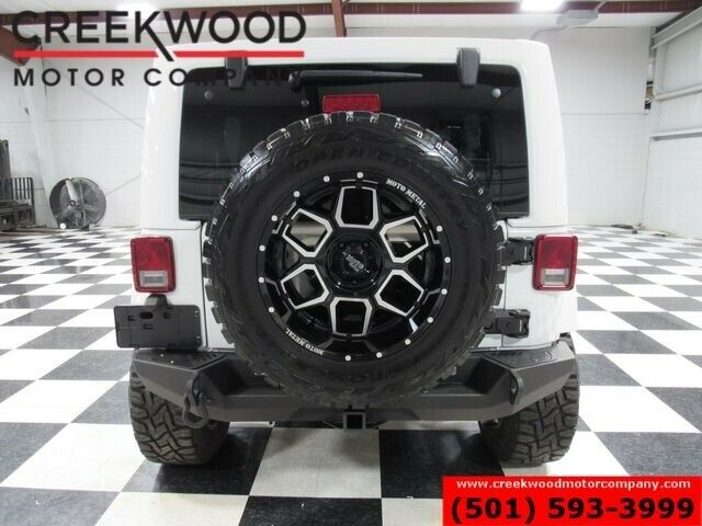 2017 Jeep Wrangler Rubicon 4×4 Auto Lifted Low Miles 1 Owner Nav Lthr