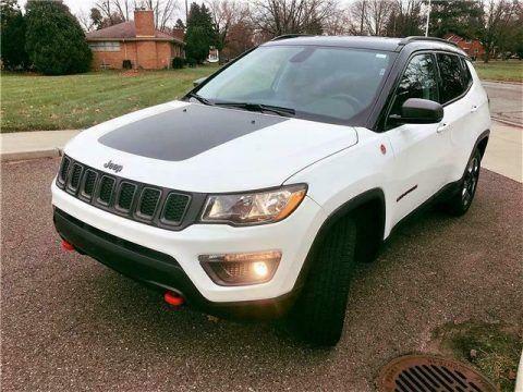 2018 Jeep Compass Trailhawk na prodej