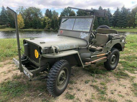 1942 Jeep Willys Ford GPW na prodej