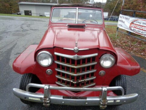 1950 Jeep Willys Jeepster CONVERTIBLE na prodej