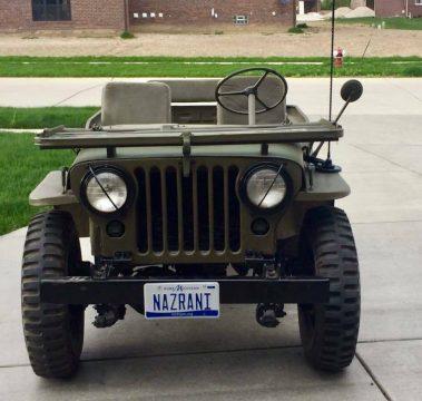 1953 Jeep Willys Overland MC M38 na prodej