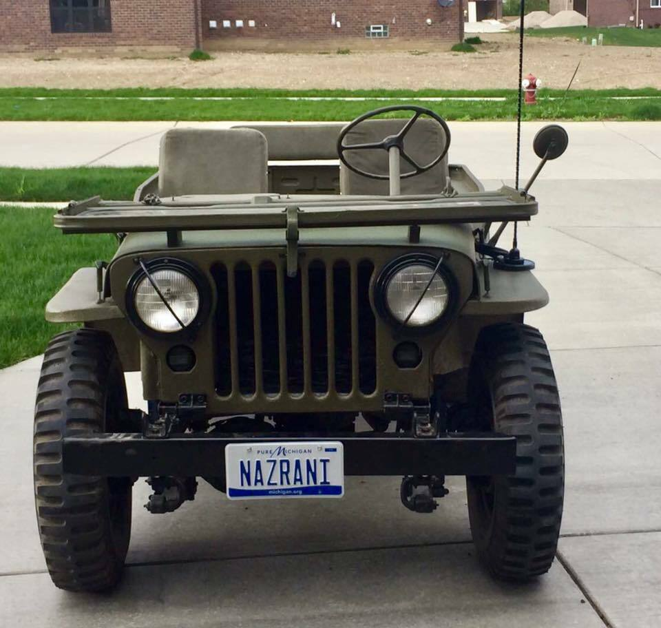 1953 Jeep Willys Overland MC M38