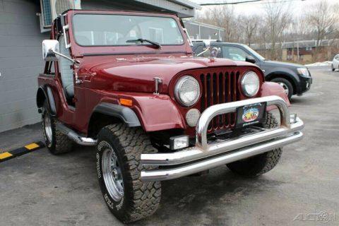 1978 Jeep CJ CJ5 na prodej